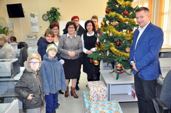 Świąteczna Paczka w Damasławku i Janowcu Wlkp.