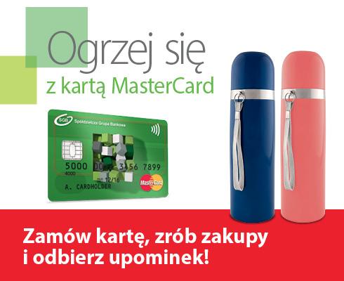 Ogrzej się z kartą MasterCard
