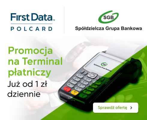 Terminal płatniczy FirstData