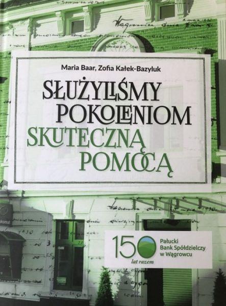 Bank z monografią na 150 lat.