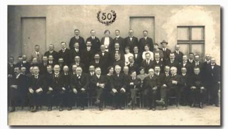 50. Jubileusz Banku Ludowego w Wągrowcu 5.05.1923 r.
