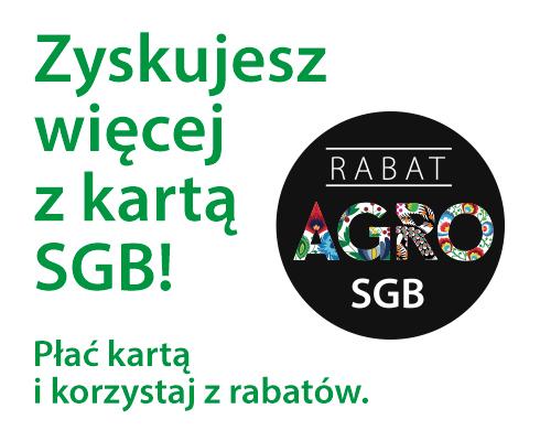 Rabaty z kartą AGRO SGB!