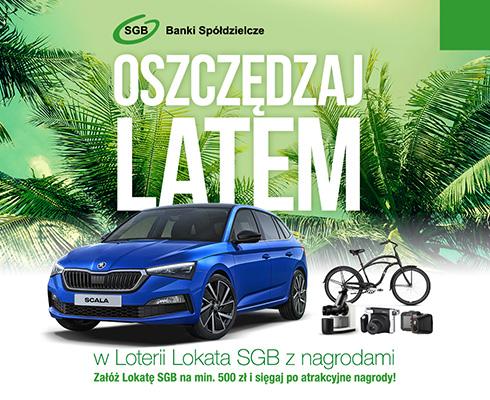 Lokata SGB (Lato 2019) – loteria z nagrodami