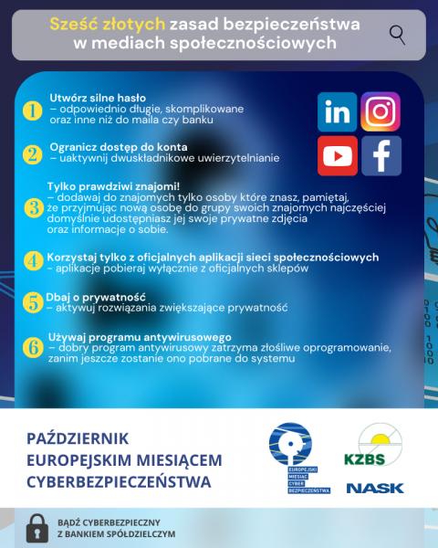 Bezpieczni w mediach społecznościowych – praktyczne wskazówki